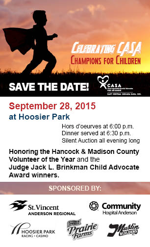 Save the Date Champions for Children